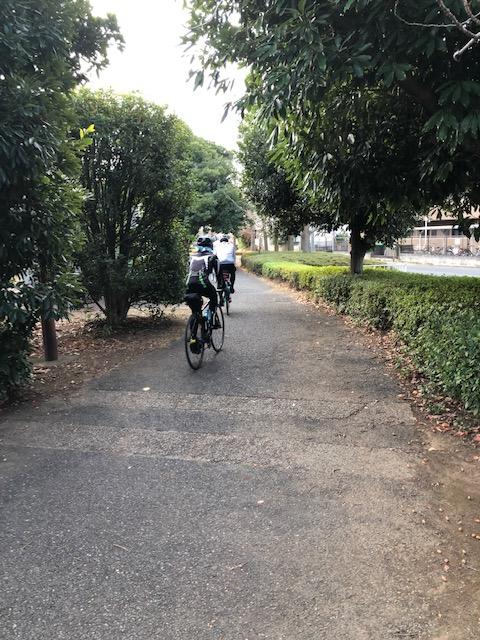 日曜サイクリング