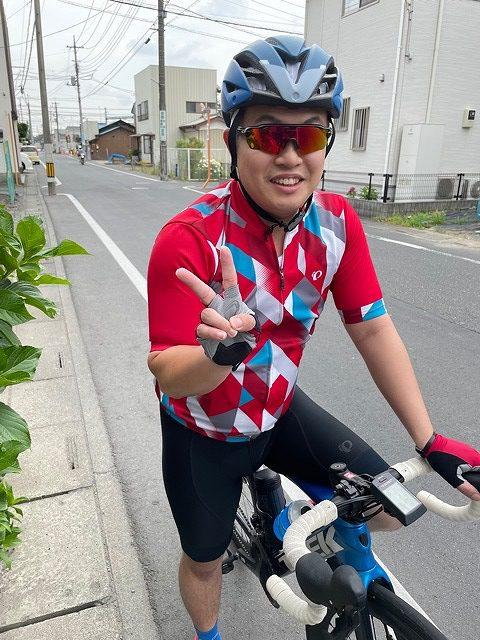 日曜サイクリング6月13日